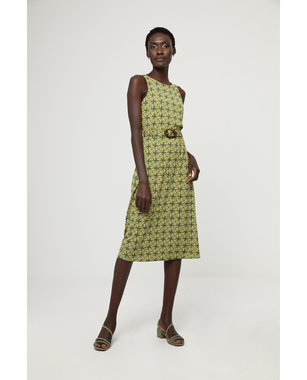 Surkana 521TILO715  Dámské šaty 61 zelená