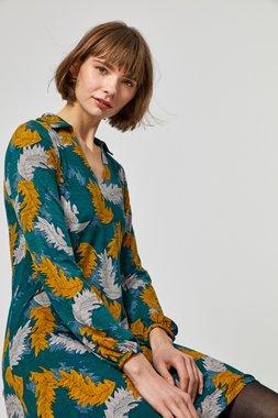 Surkana 550NODI715  Dámské šaty zelená