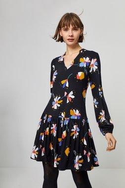 Surkana 560HODA715  Dámské šaty černá