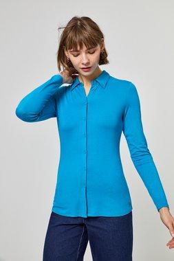 Surkana 560HOKS112  Dámská košile modrá