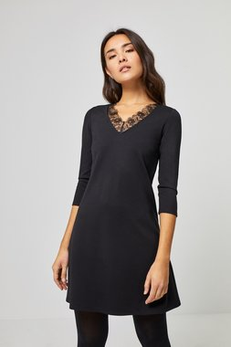 Surkana 560SPON711  Dámské šaty černá