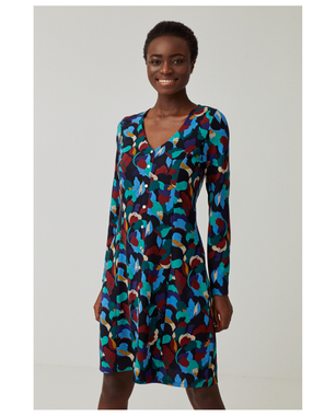 Surkana 561JOIN711  Dámské šaty 51 modrá