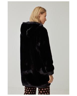 Surkana 561TROP421  Dámský kabát 00 černá