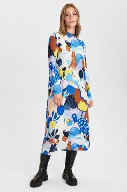 Nümph 700891 NUCICELY waistDámský kabát 3081 Princess Blue modrá