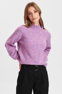 Nümph 700923 NUCARLOTTA waistDámský kabát 3524 Lilac Breeze 3524 Lilac