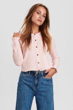 Nümph 700927 NUCARSON waistDámský kabát 2537 Chalk Pink růžová