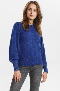 Nümph 700970 NUCHANEY waistDámský kabát 3081 Princess Blue modrá