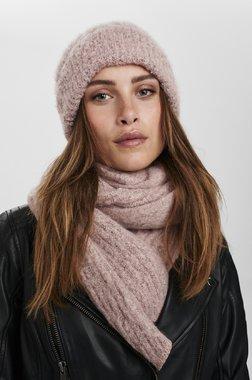 Nümph 701072 NUBOBBLY waistDámský kabát 2537 Chalk Pink růžová jedna velikost