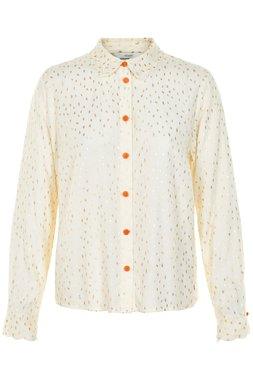 Nümph 7119019 IRIDIANA Dámská košile béžová
