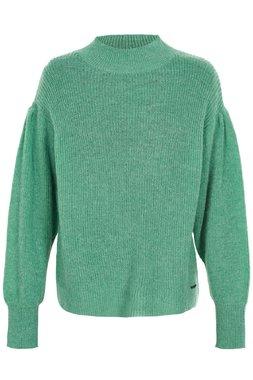 Nümph 7119212 IDALAH Dámský svetr zelený