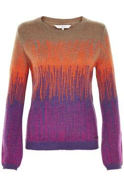 Nümph 7119222 IOLANA Dámský svetr fialový