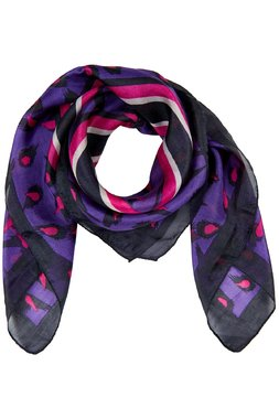 Nümph 7119415 JAZLYN SILK Dámský šátek fialový jedna velikost