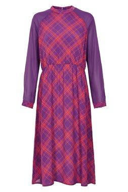 Nümph 7119817 JADEN Dámské šaty fialové
