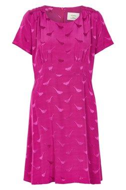 Nümph 7119825 FLOWNY Dámské šaty fialové