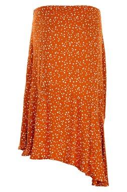 Nümph 7120101 NUAANISHAH SKIRT Dámská sukně oranžová