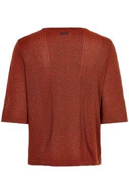 Nümph 7120220 NUANNORA PULLOVER Dámský svetr oranžový