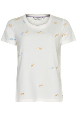 NÜmph 7120310 NUCUPERTINO T-SHIRT Dámské tričko bílé