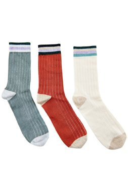 Nümph 7120407 NULADOMIA 3-PACK Dámské ponožky jedna velikost