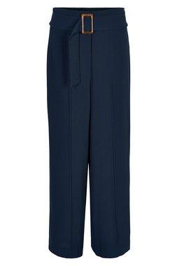 Nümph 7120604 NUADAMINA PANT Dámské kalhoty tmavě modré