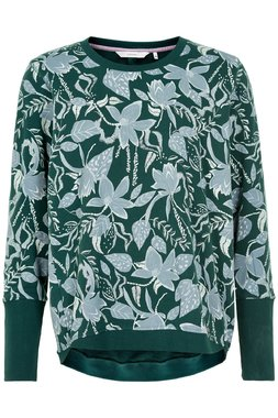 NÜmph 7120704 NUNICOLA SWEAT Dámský svetr zelený