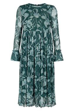 Nümph 7120801 NUAADA DRESS Dámské šaty zelené