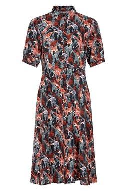 Nümph 7120807 NUABIAH DRESS Dámské šaty tmavě modré
