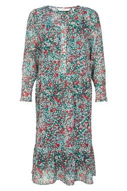 NÜmph 7120813 NUAOIFE DRESS Dámské šaty zelené