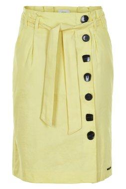 NÜmph 7219105 KARLA Dámská sukně žlutá