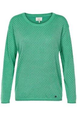 Nümph 7219204 JAZMINE Dámský svetr zelený
