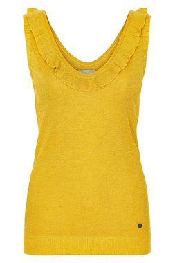 Nümph 7219206 JIYA Dámský úpletový top žlutý