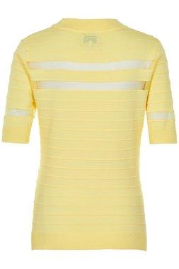 Nümph 7219218 KEELA Dámský svetr žlutý