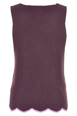 Nümph 7219220 KARISSA Dámský úpletový top fialový