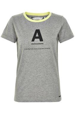 NÜmph 7219324 KATY Dámské tričko šedé