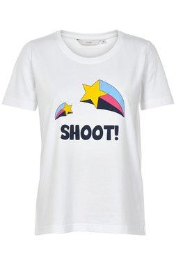 Nümph 7219333-9000A LARAS Dámské tričko bílé