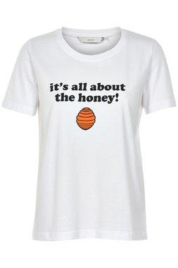 NÜmph 7219333-9000B LARAS Dámské tričko bílé