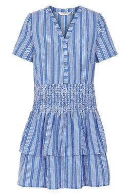 Nümph 7219841 LAINIE Dámské šaty modré