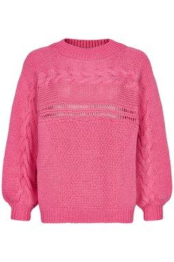 Nümph 7220202 NUALALA Dámský svetr růžový