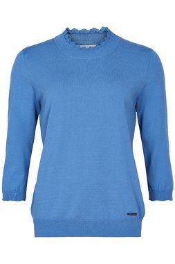 Nümph 7220204 NUALANI Dámský svetr modrý