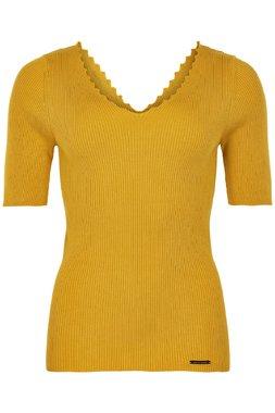 NÜmph 7220220 NUAYELET Dámská pletená halenka žlutá