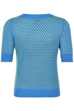 Nümph 7220221 NUBRYNN Dámská pletená halenka modrá