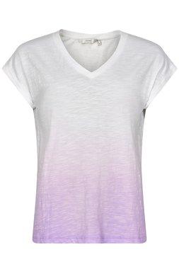 NÜmph 7220315 NUAYANNA Dámské triko bílo fialové