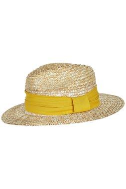 NÜmph 7220427 NUALIZEH Dámský klobouk žlutý