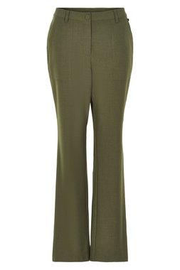 Nümph 7220602 NUAGGIE Dámské kalhoty zelené