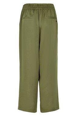 Nümph 7220618 NUARALUEN Dámské kalhoty zelené