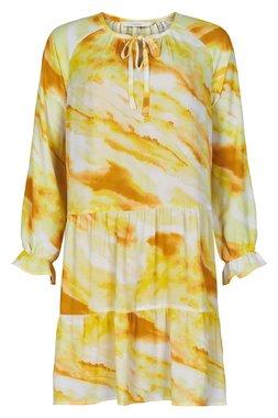 NÜmph 7220822 NUSDHALA Dámské šaty 1023 Y. IRIS žlutá