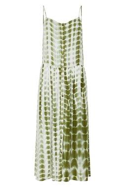 Nümph 7220834 NUBLAZE Dámské šaty 4047 M. OLIVE zelená