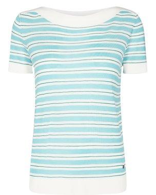 Nümph NEW KEIICHI Dámské tričko s modrým proužkem