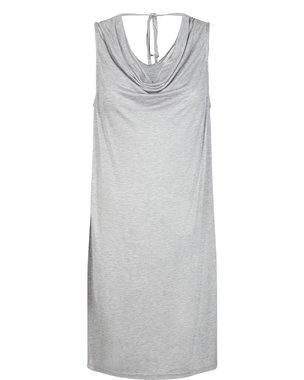 Nümph CLANCY Dámské krátké šaty šedý melír