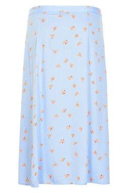 NÜmph 7319106 KIRBY Dámská sukně 3036 PLACID B. modrá