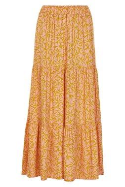 NÜmph 7319107 LAMARR Dámská sukně oranžová